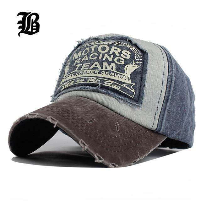 FLB  2 pieces style sale unisex Hats For Men Women Grinding Multicolor  gorras Cotton snapback hats wash cap Summer Hip Hop Caps 58c3ed302