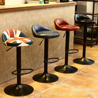 return to the ancients iron art bar chair Raised and lowered high chair Swivel back bar chair bar chairs stools