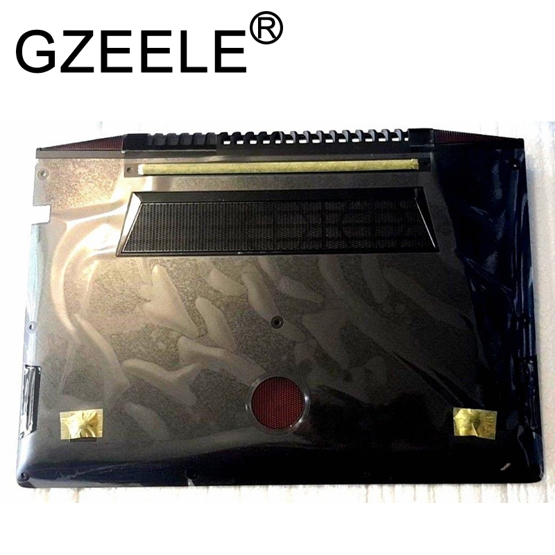GZEELE NEW Touch Screen BOTTOM for <font><b>Lenovo</b></font> IdeaPad <font><b>Y700</b></font> <font><b>Y700</b></font>-15 <font><b>Y700</b></font>-15ISK <font><b>Y700</b></font>-15ACZ Bottom Case Base Lower Cover AM0ZF000600 image