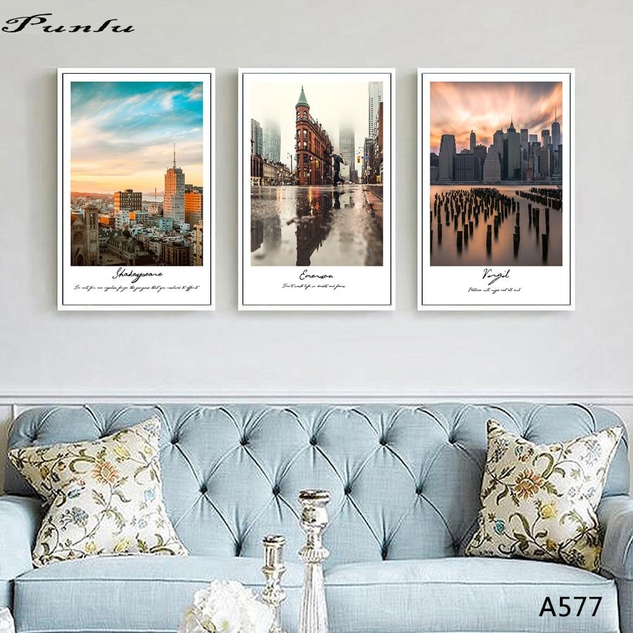 Northern europe modern landscape living room paintings - Landscape paintings for living room ...