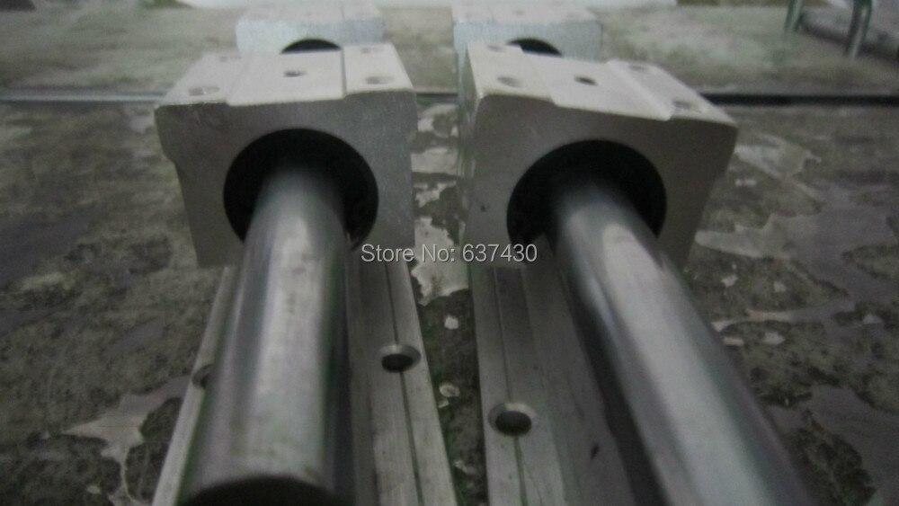 2pcs linear rail SBR40-L800mm +4pcs SBR40UU linear open block bearings2pcs linear rail SBR40-L800mm +4pcs SBR40UU linear open block bearings