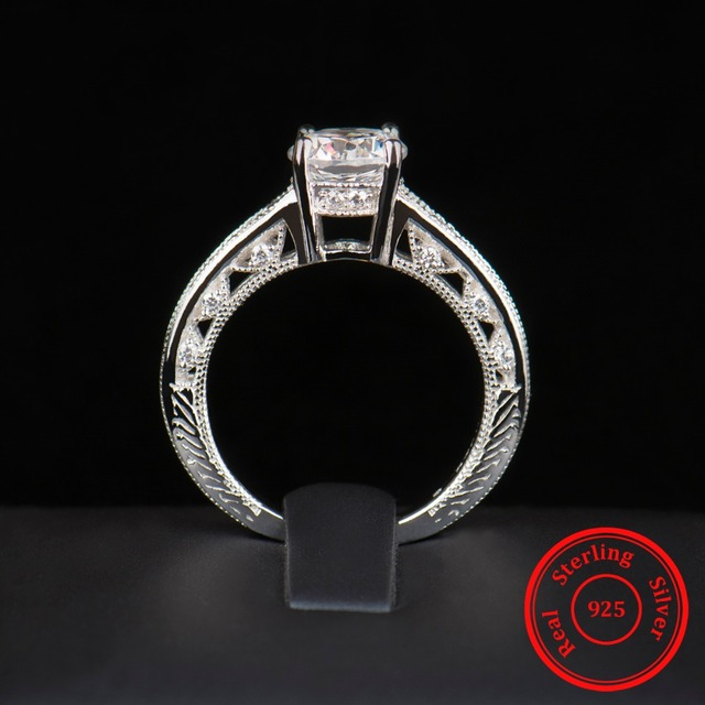Fashion Luxury Hollow out Wedding Rings