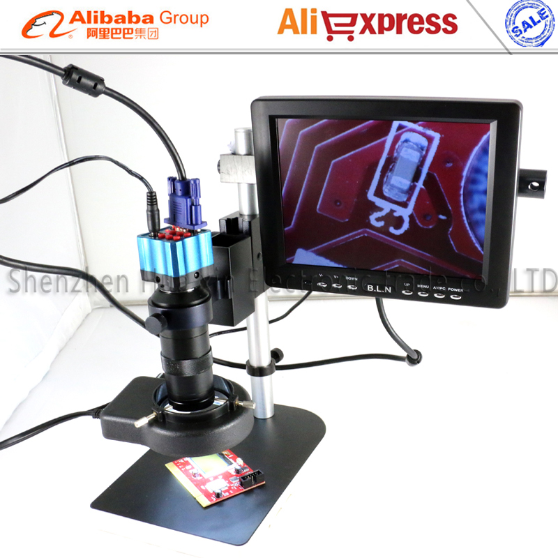 Exhibition Stand Lighting Kits : Newest ir remote control vga industry microscope kits with