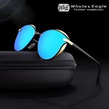 Whale & Eagle Cat Eye Women Sunglasses Classic Drive Polarized Cool Mirror Coated Lens Brand Design Sun glasses UV400