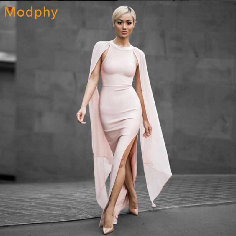 Здесь продается  2018 New Sexy Elegant mesh Bandage Dress Women Floor Length Long Evening Party Dresses black pink dropshiping wholesale HL182  Одежда и аксессуары