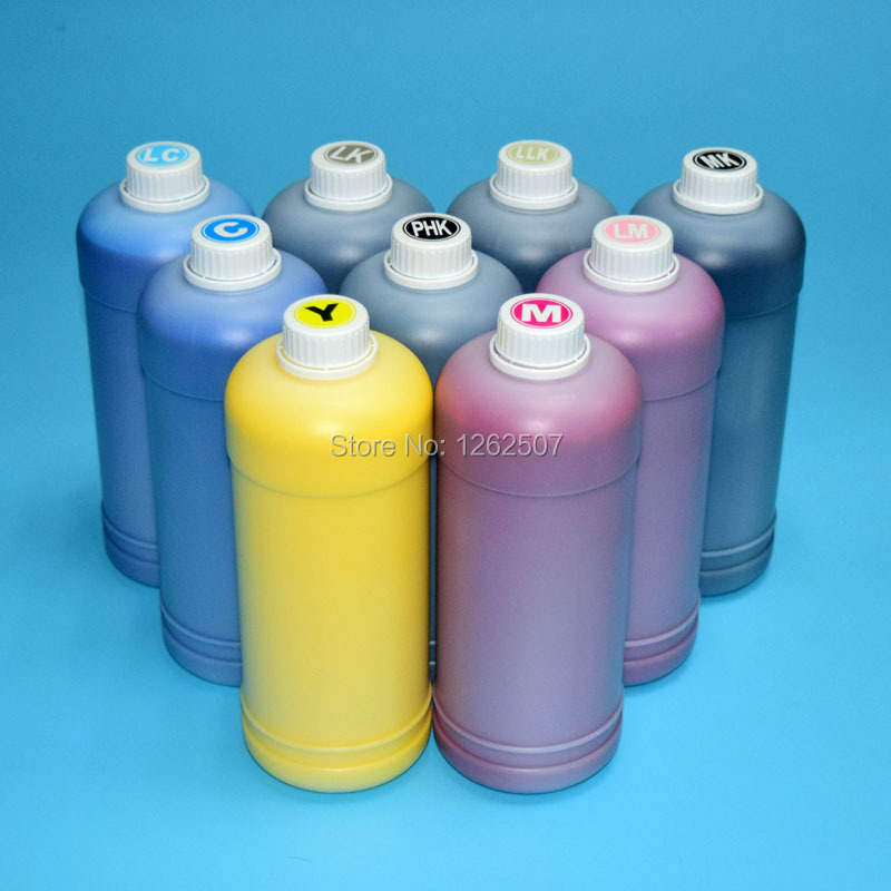 High quality pigment ink For Epson Surecolor P800 refill inks For Epson SC P800 inkjet printer 9 colors T8501 T8509