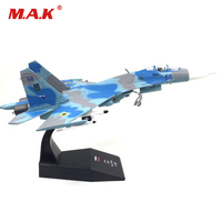 Kids Toys 1 100 Sukhoi Su 27 Flanker Heavy Fighter Air Force Diecast Aircraft Plane Model