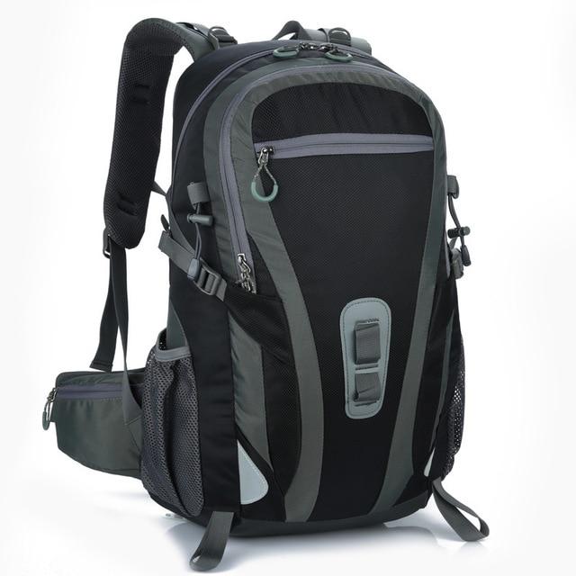 e265413d7f 35L-55L Waterproof Nylon Backpack Men Women Sport School Back Bags Camping  Hiking Pack Ski