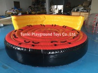 Inflatable Water Toy Tube Commercial Crazy UFO Sofa Water Water Sport Rental Towable Tube