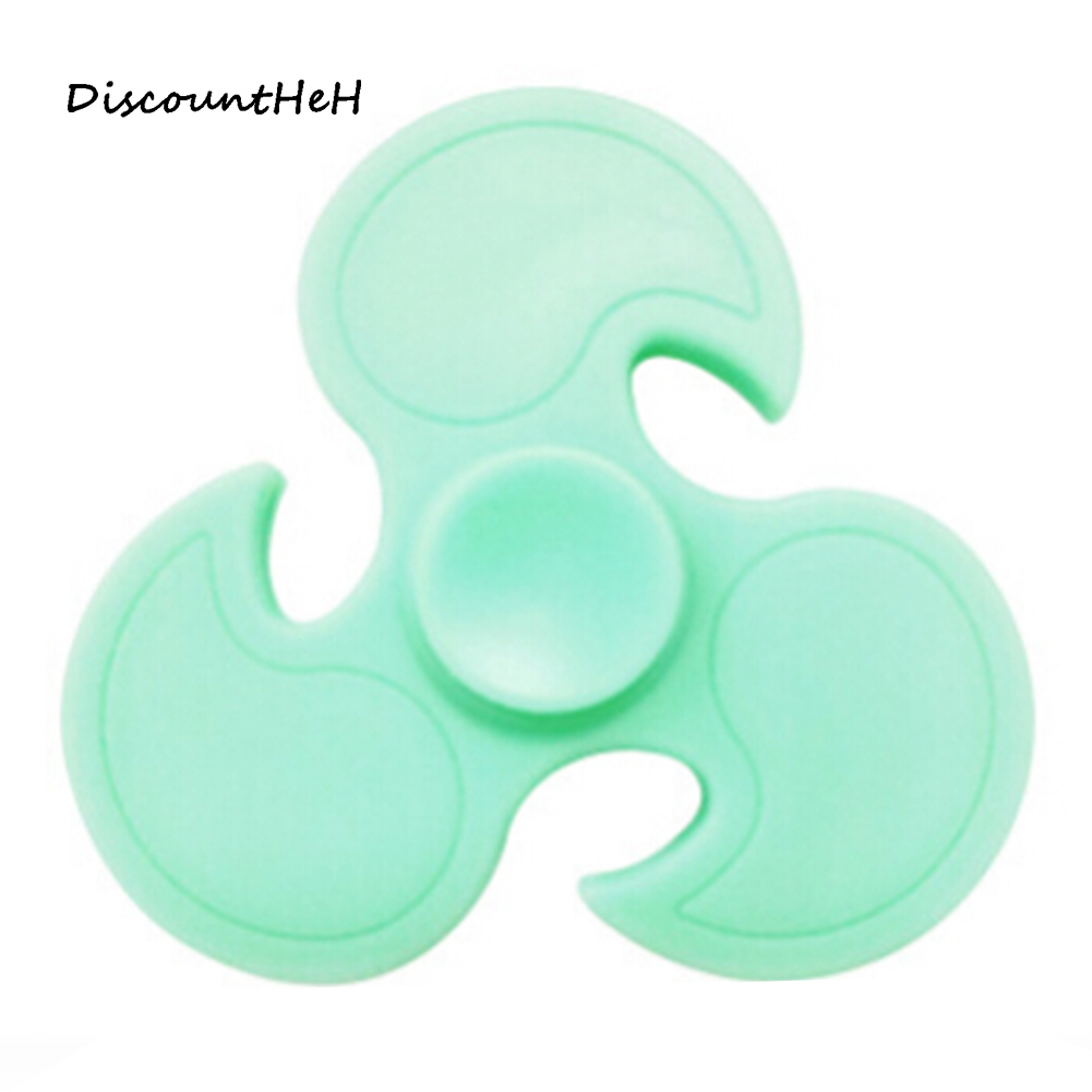 2017 Luminous Wind Wheel Triangular Fidget Spinner Nanometer Bearing ADHD Stress Relief Toy For Kids With Autism Quality Control