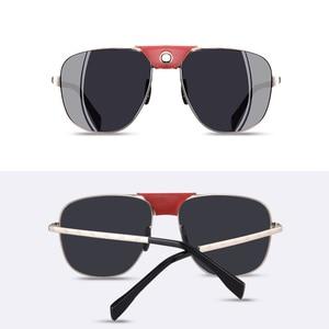 Image 5 - AOFLY, фирменный дизайн, модные поляризованные солнцезащитные очки, мужские очки для вождения, винтажные, золотые, оправа пилот, панк, солнцезащитные очки, мужские oculos de sol
