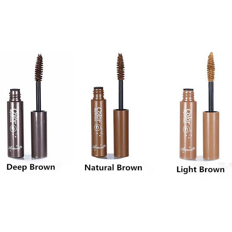 AddFavor 3D Fiber Eyebrow Gel Tint Mascara Cream Paint Eye Brow Makeup Pigment Eyebrow Enhancer Natural Dye Waterproof Eyebrow 14