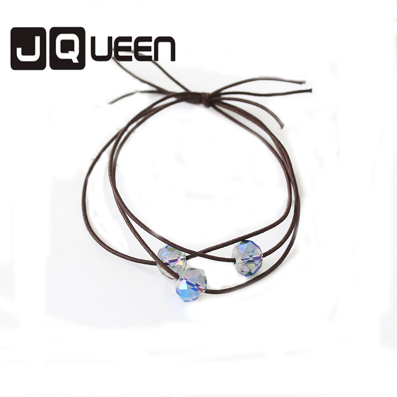 2017 New Arrival fresh multi-strand knot Artificial crystal hair coil Accessories Trendy Jewelry Concise Hair Jewelry.