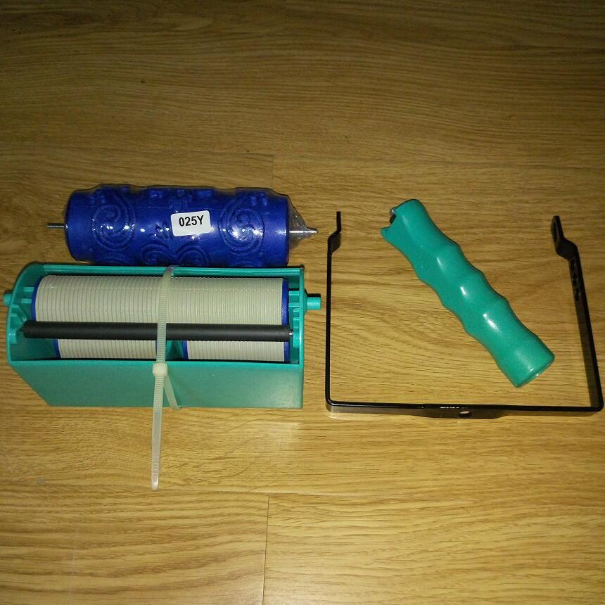 DIY wanddecoratiegereedschap - 5 inch handgreep applicator plus 5 - Gereedschapssets - Foto 2