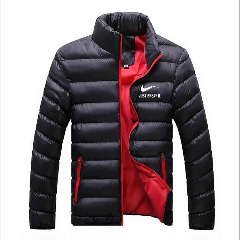 New winter jacket Parker men's autumn and winter warm jacket brand Slim men's jacket casual windbreaker quilted jacket men's
