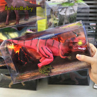 Febio Baby Big Size Wild Life Dinosaur Toy Set Plastic Play Toys Dinosaur Model Action Figures Kids Boy Gift Home Decoration