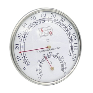 EASY-Sauna Thermometer Metal C