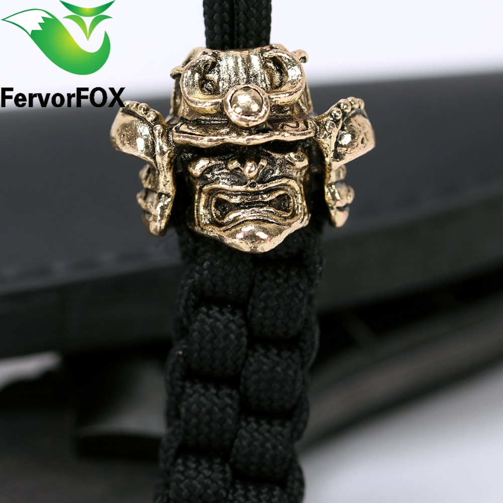 New Style Metal  Beads For DIY Paracord Bracelets Knife Flashlight Lanyards Pendant Accessories