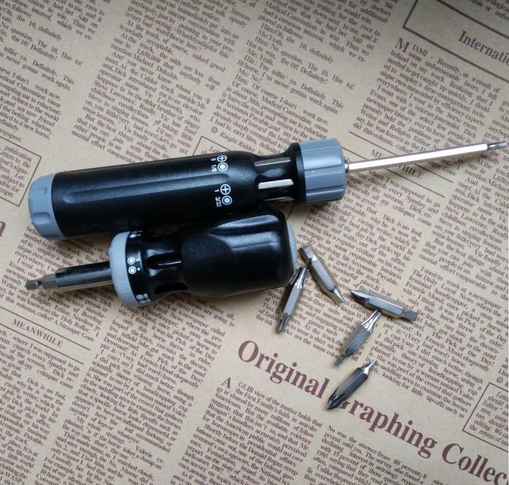 Купить с кэшбэком 12 In 1 Screwdriver Set mini Portable Multifunction Tool Metric System Short Model Precision degree right angle driver