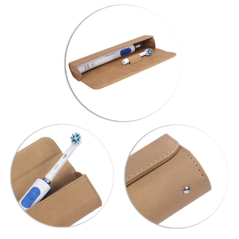Magnetic Portable Travel Case Cover Storage Bag for Oral-B Philips Electric Toothbrush or Make Up Brush Whosale&Dropship