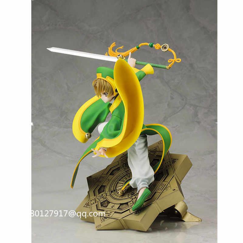 9 polegadas ARTFX Card Captor LI SYAORAN 1/7 PVC Action Figure Collectible Modelo Toy BOX Q186
