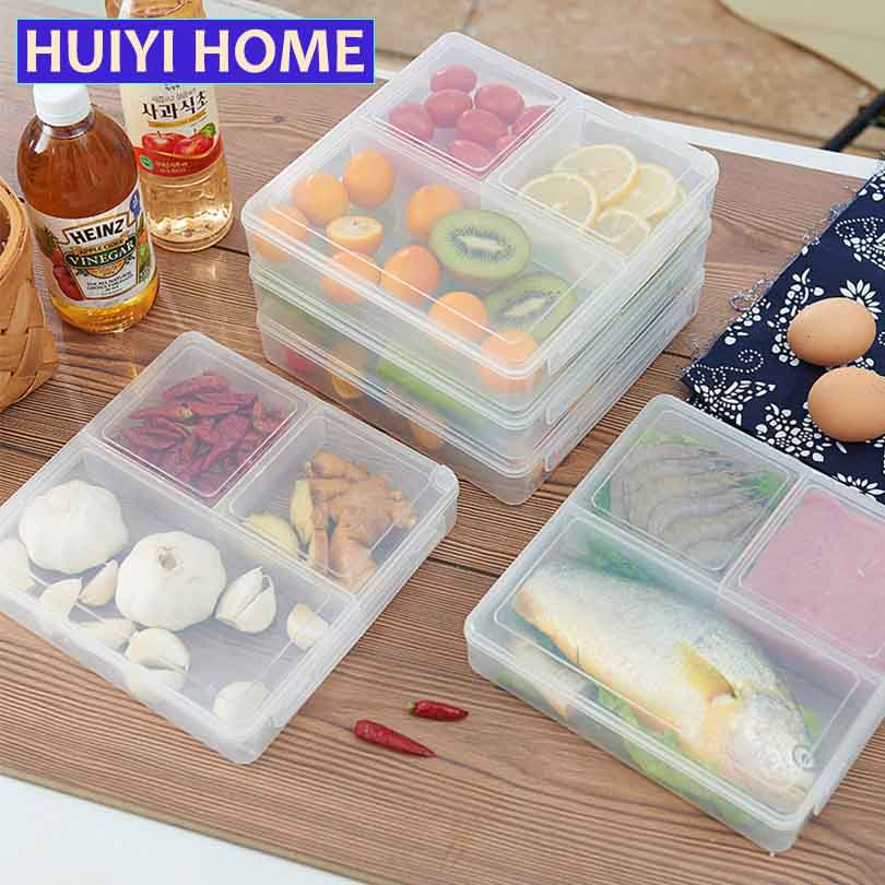 A Kitchen Is Launching An Express Lunch Service: Huiyi Home Plastic Lunch Box Food Container Kitchen