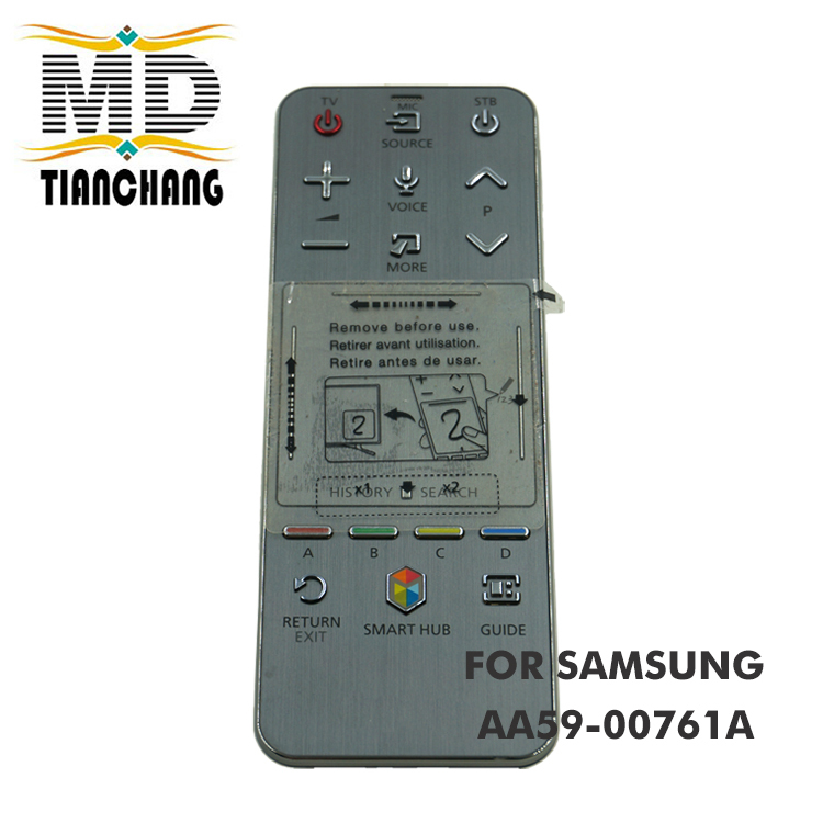 Used Free Shipping English Edition RMCTPF1AP1 AA59-00761A Smart Hub Audio Sound Touch Remote Control For Samsung TV used original aa59 00759a for samsung smart touch audio sound tv remote control tm 1390 aa5900759a rmctpf1ap1 fernbedienung