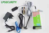 LPSECURITY GSM remote controller SMS GSM temperature alarm monitoring with probe sensor