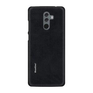 Image 4 - Sıcak satış durumda lüks Vintage PU deri kılıfı için Elephone U Pro telefon kılıfı Leagoo M9 iş tarzı kapak