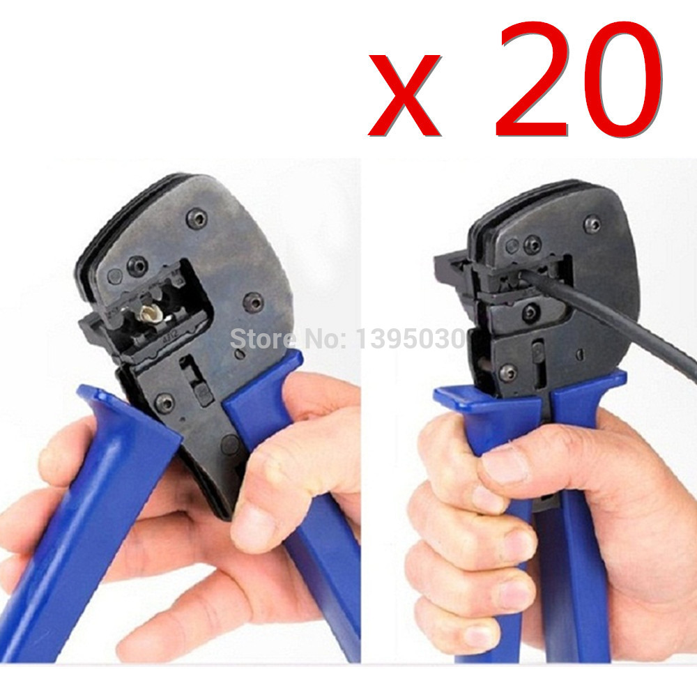 Free Shipping By DHL 20PCS/Lot A-2546B MC4 MC3 Solar Crimping Tool Crimp 2.5/4/6mm2 PV Cable Connectors m22520 2 01 crimp tool by hand equivalent to afm8 dmc with sk2 2 locator