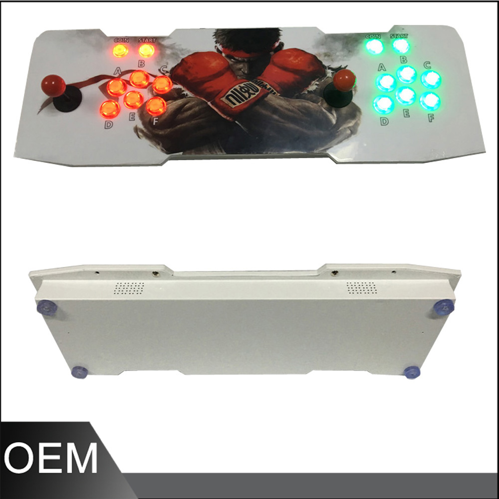 Household Pandora's Box 4S  arcade Joystick game console ,HD VGA output  jamma multi games 680 in 1 fighting game machine