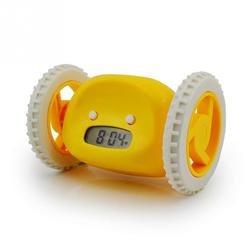 LED Digital Display Running Alarm Clock Lazy Escape Moving Alarm Clock Runing