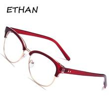 Women Brand Designer Goggle Eyewear Anti Blue Light Clear Le