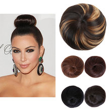 HiDoLA Womens Synthetic Hair Bun Chignon Ponytail Extensions headwear 1 order