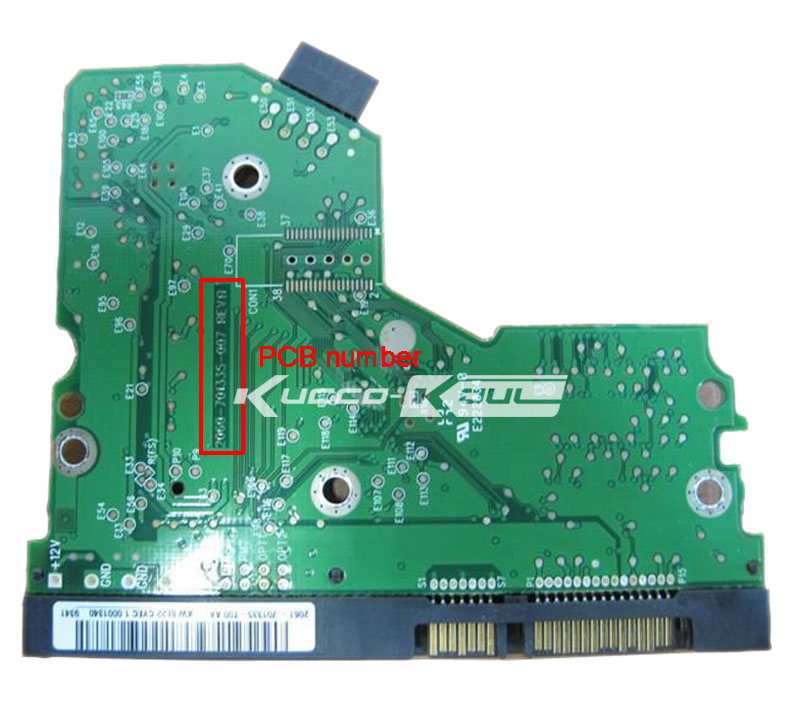 HDD PCB Circuit Board 2060-701335-007 REV A For WD 3.5 SATA Hard Drive Repair Data Recovery