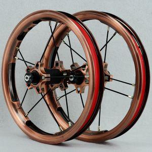 Image 2 - PASAK Sliding Bike Wheelset 12inch Straight pull Bearing BMX Children Kids Balance Bicycle Wheels 85mm 95mm BMX