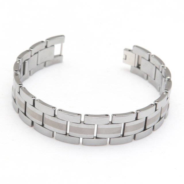 tungsten carbide Fashion Bracelet Tungsten Bracelet Designde For Men Length 21.5cm Width 1.6cm Thickness 3mm Weight 110g