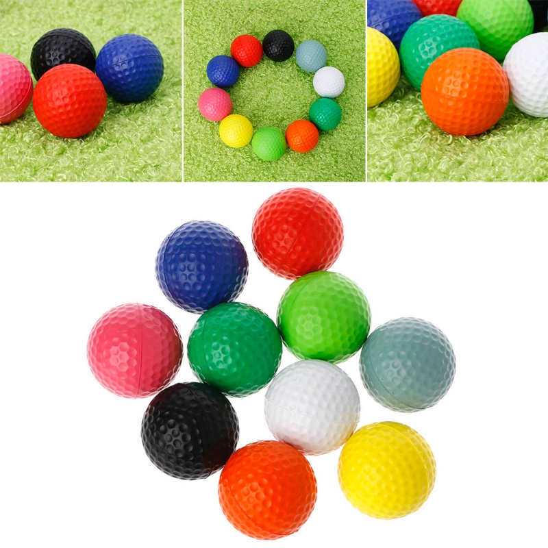 One Pc Professional Practice Golf Balls Course Play Toy Indoor Outdoor Training