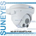 SunEyes  SP-P1802SPTZ-POE  ONVIF Full HD 1080P 2MP PTZ Dome IP Camera POE with Pan/Tilt and  2.8-12mm Optical Zoom Micro SD Slot