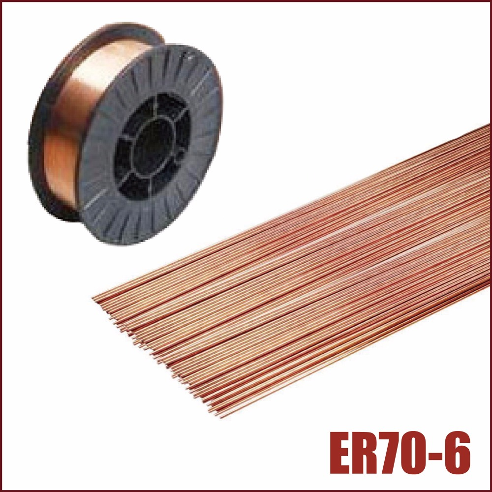 CO2 welding wire gas shielding mig tig stainless steel mild metal arc solid 0.8mm 1mm spool reel accessories copper solder rod