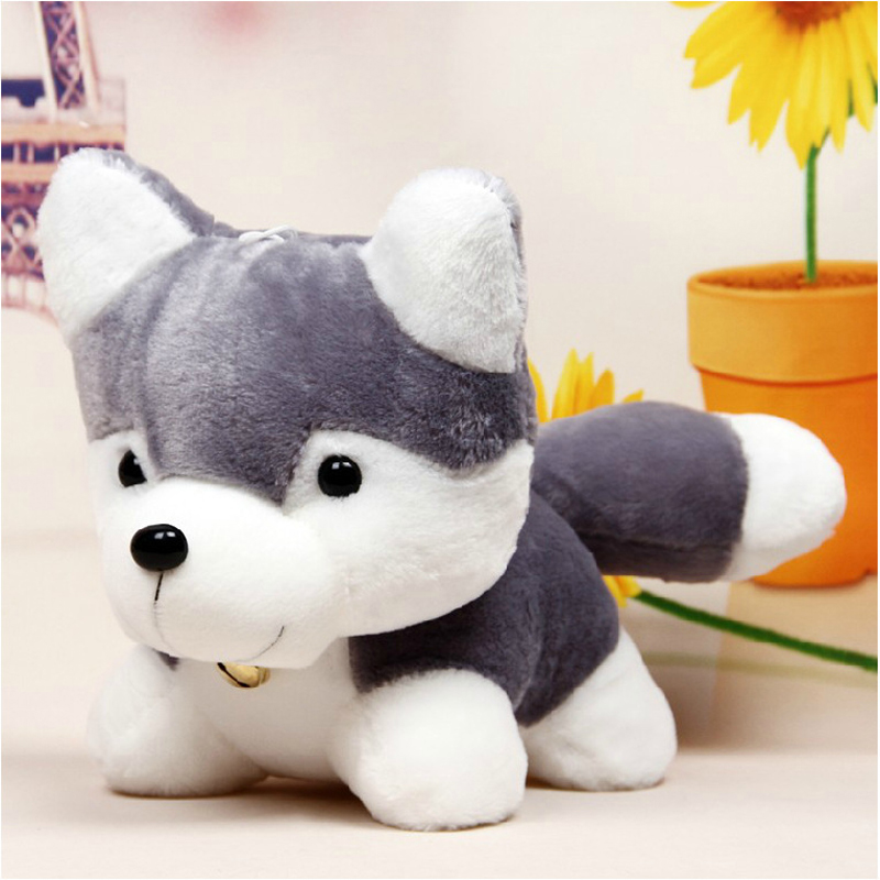 stuff husky toy cute plush dog soft animal super doll kawaii stuffed wholesale sleeping toys birthday arrival gift simulation appease