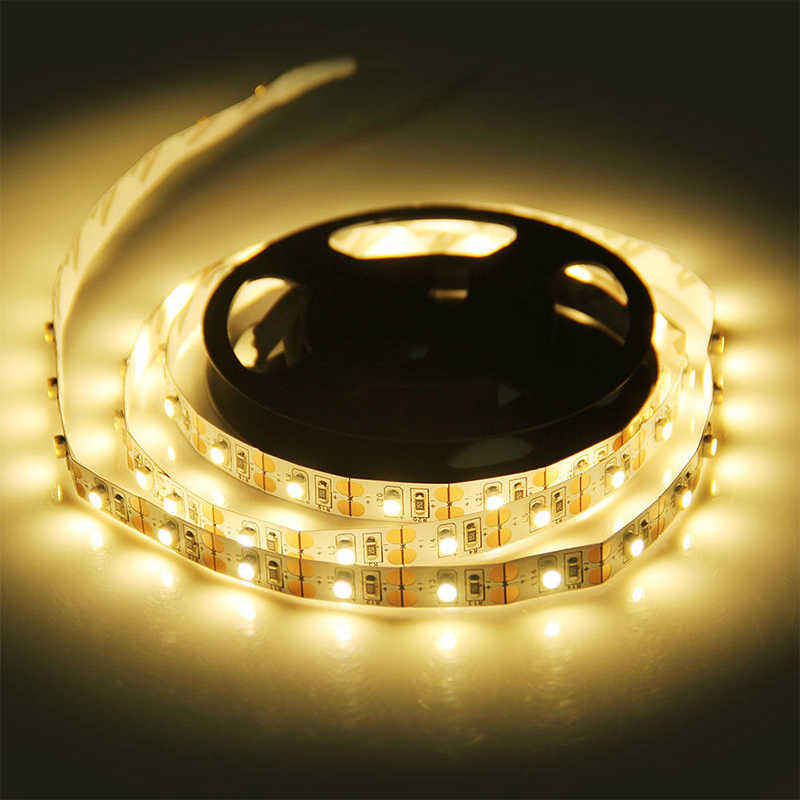 DC 5 V/6 V LED Strip Lampu USB Powered TV Lampu Natal Dekorasi Meja Lampu 0.5M 1M 2M 3M 4M 5M SMD 3528 TV Pencahayaan Latar Belakang