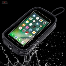 WOSAWE Motorcycle Bags Magnetic Gas Tank Bag Clear Water repellent For Cell Phone Case for Holder Mount With 7Pcs Strong Magnets
