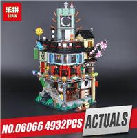LEPIN 06066 City Series Construction Model Building Blocks kid Toys Bricks Compatible 70620 for Children IN Stock 4932pcs by DHL