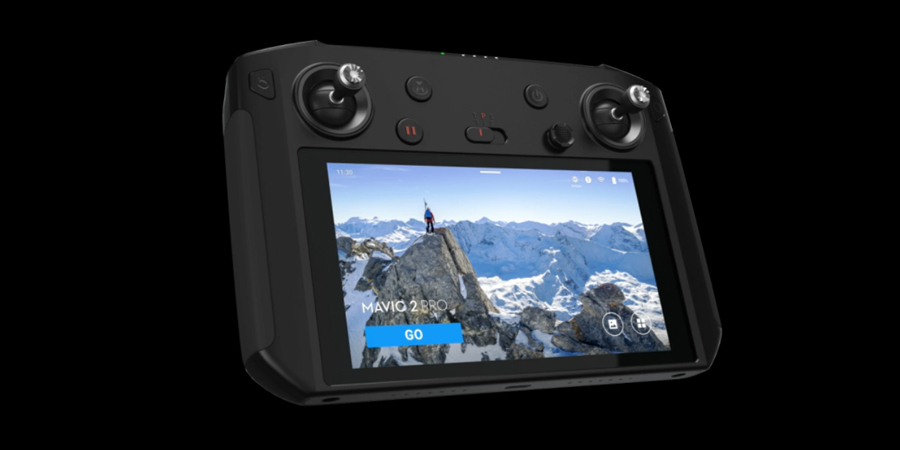DJI Smart Controller 5.5-inch 1080p OcuSync 2.0 Customized Android system Supports Third-party Apps, for Mavic 2