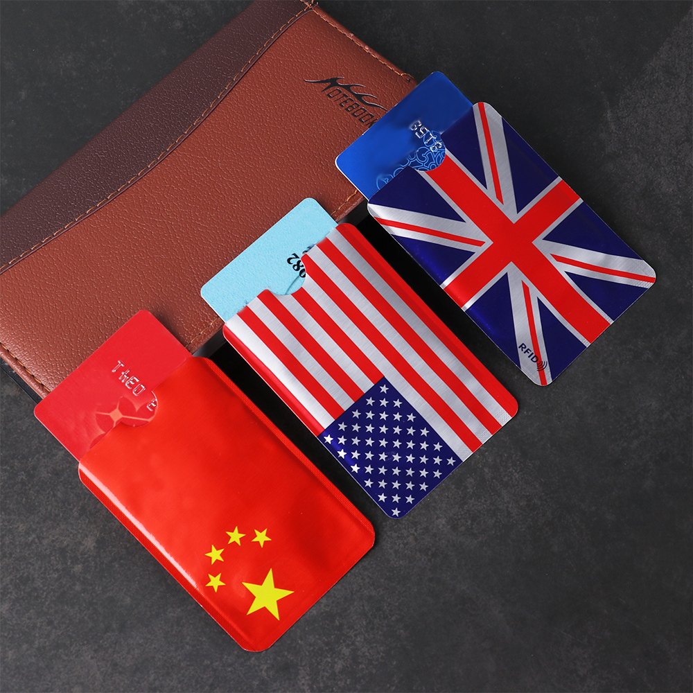 5/10 Pcs ID Bank Card Case Anti Rfid Wallet RFID Blocking Card Holder Protect Case Cover Credit Cards Protection Accessories