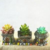 Giardino Ornamento Amante Figura della Casa Decorativi Vasi Da Giardino Red Clay Vasi di Fiori Bonsai Decorazione Esterna