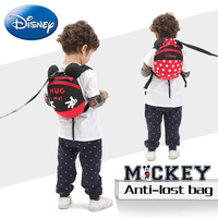 Disney Baby Kid Anti Lost Backpack Harnesses Leashes Toddler Cartoon Safety Activity Backpack Child Schoolbag Walking Strap Bag