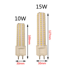 G12 светодиодный свет кукурузы 10 W 1000LM 15 W 1500LM SMD2835 светодиодный лампы лампа сверхъяркая AC85-265V лампы высокой яркости освещения