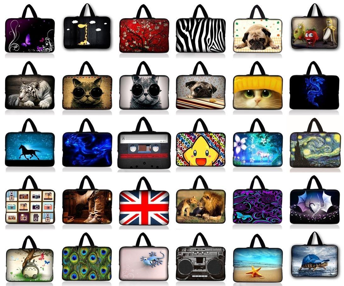 Neoprene Notebook Bag For 7.9 10.1 11.6 12 13.3 14 15 15.4 15.6 inch Laptop Bag Sleeve Case For Macbook Asus HP Acer Lenovo